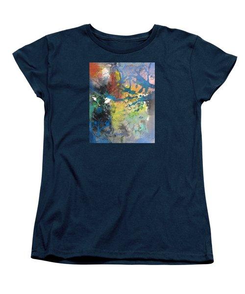 Moonglow Women's T-Shirt (Standard Cut) by Becky Chappell