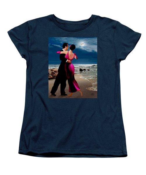 Moonlight Dance V2 Women's T-Shirt (Standard Cut) by Ron Chambers