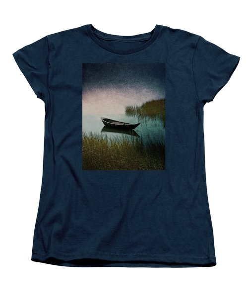 Moonlight Paddle Women's T-Shirt (Standard Cut) by Brooke T Ryan