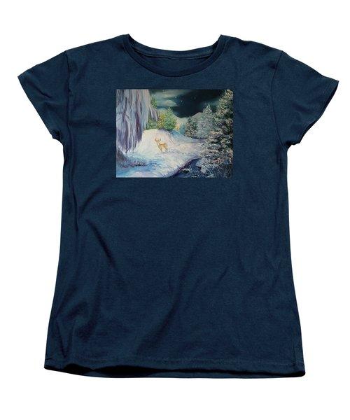 Moonlit Surprise Women's T-Shirt (Standard Cut)