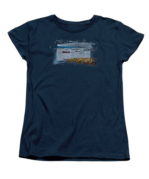 Moorings 2 Women's T-Shirt (Standard Cut) by John M Bailey