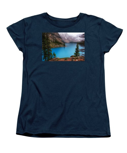 Moraine Lake Women's T-Shirt (Standard Cut) by Heather Vopni