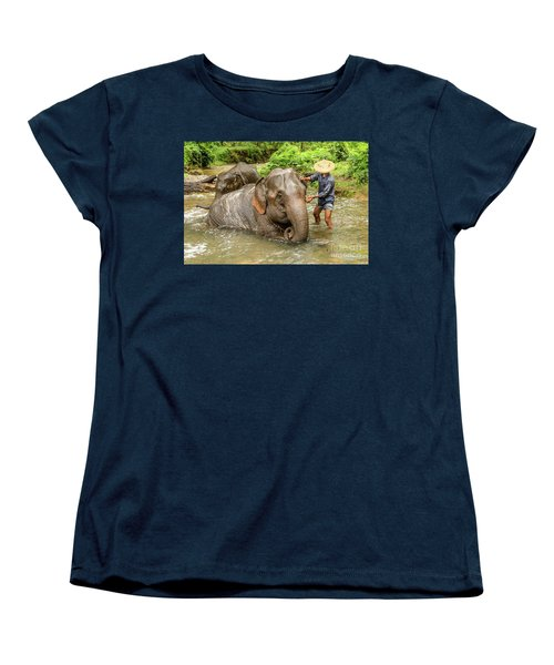 Morning Ablutions 4 Women's T-Shirt (Standard Cut) by Werner Padarin