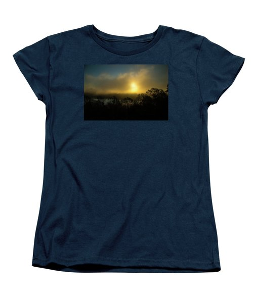 Women's T-Shirt (Standard Cut) featuring the photograph Morning Arrives by Karol Livote