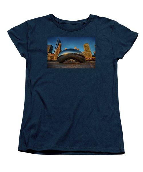 Morning Bean Women's T-Shirt (Standard Cut) by Sebastian Musial