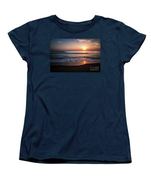Morning Fire Women's T-Shirt (Standard Cut) by Giuseppe Torre