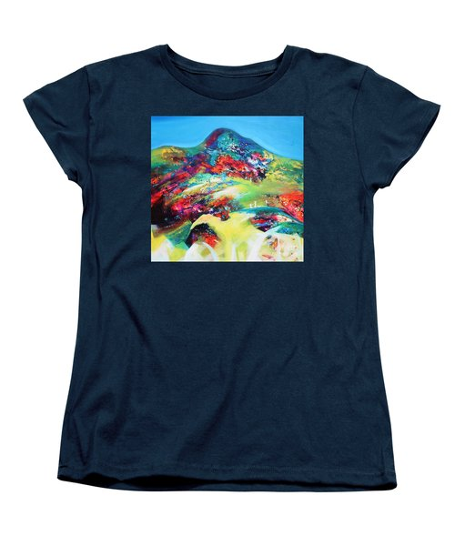 Morning Glory Women's T-Shirt (Standard Cut) by Sanjay Punekar