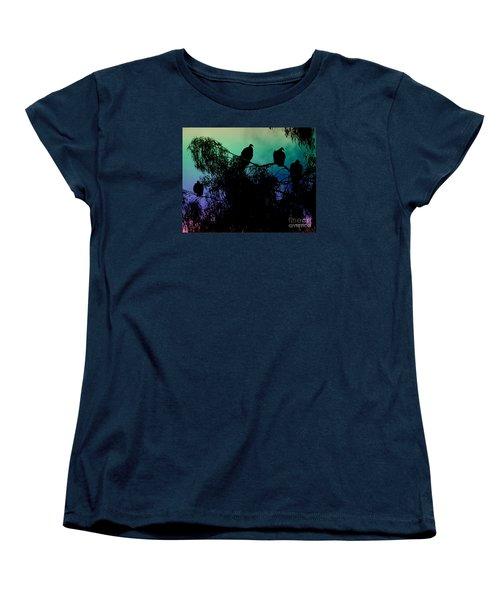 Women's T-Shirt (Standard Cut) featuring the photograph Morning Has Broken by Rhonda Strickland