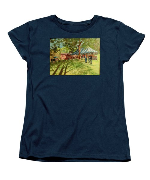 Morning In Ringgold Women's T-Shirt (Standard Cut) by Janet McGrath