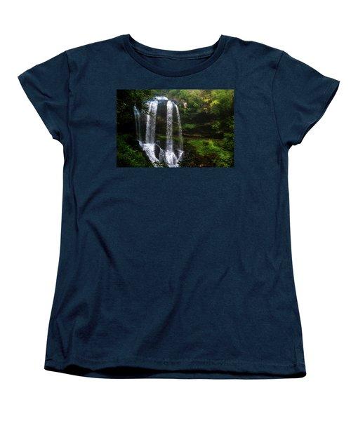 Morning In The Mist Women's T-Shirt (Standard Cut) by Allen Carroll