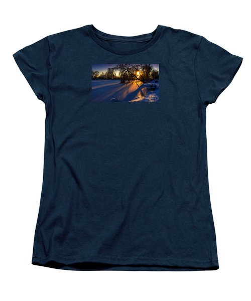 Morning Light Women's T-Shirt (Standard Cut) by Franziskus Pfleghart