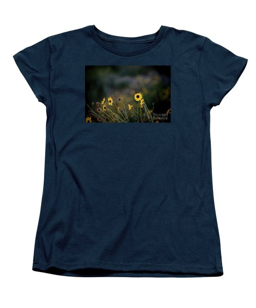 Women's T-Shirt (Standard Cut) featuring the photograph Morning Light by Kelly Wade