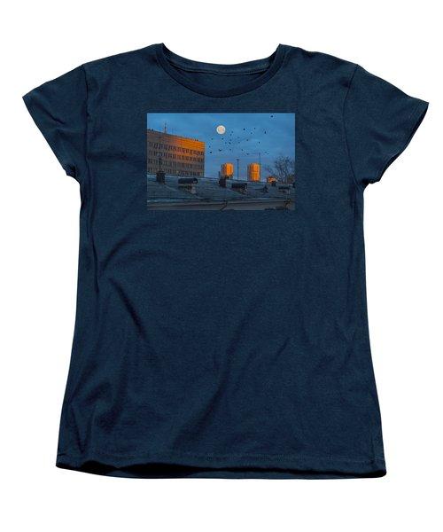 Women's T-Shirt (Standard Cut) featuring the photograph Morning Light by Vladimir Kholostykh