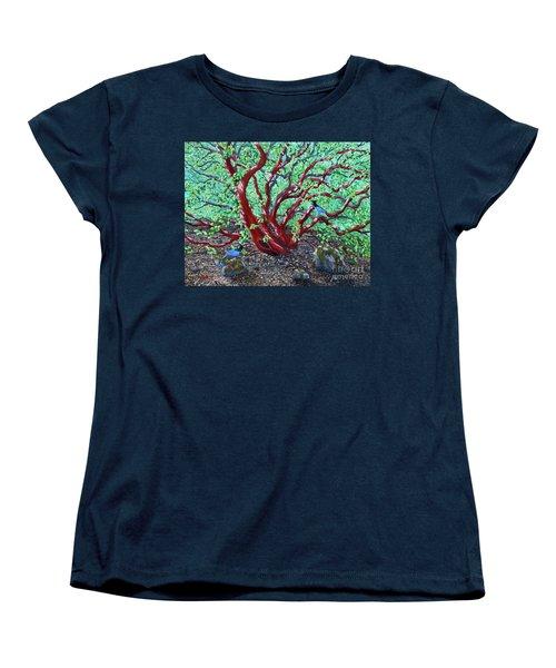 Morning Manzanita Women's T-Shirt (Standard Cut) by Laura Iverson