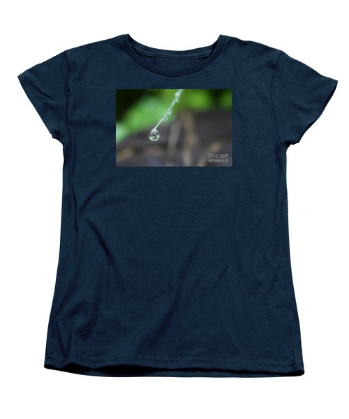 Morning Rain Drops Women's T-Shirt (Standard Cut)