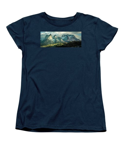 Women's T-Shirt (Standard Cut) featuring the photograph Morning Shadows by Andrew Matwijec