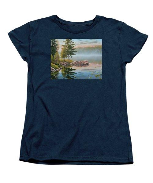 Morning Stillness Women's T-Shirt (Standard Cut)