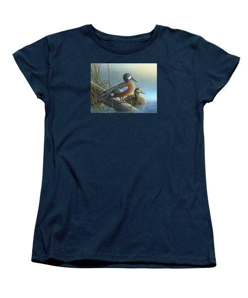 Morning Sun Women's T-Shirt (Standard Cut) by Mike Brown