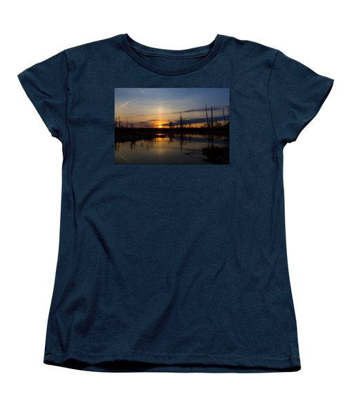 Women's T-Shirt (Standard Cut) featuring the photograph Morning Wilderness by Gary Smith
