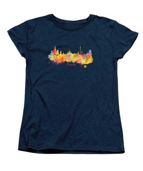 Moscow Skyline  Women's T-Shirt (Standard Cut)