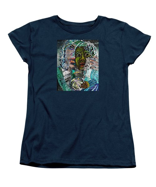 Mother And Child Women's T-Shirt (Standard Cut) by Sarah Loft