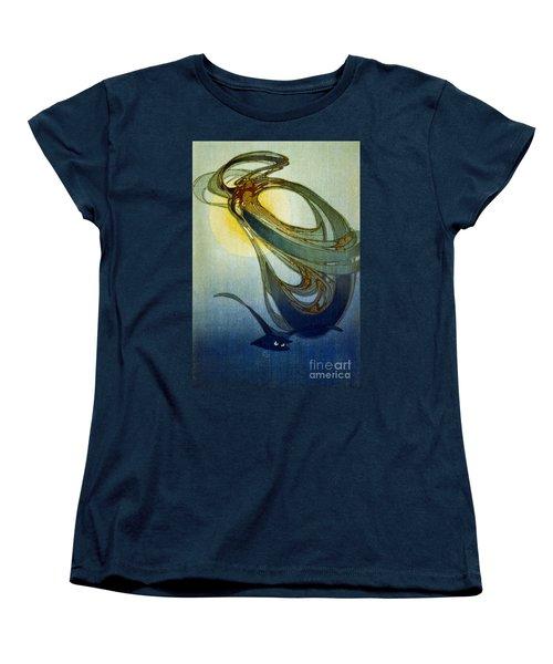Mother West Wind 1920 Women's T-Shirt (Standard Cut) by Padre Art