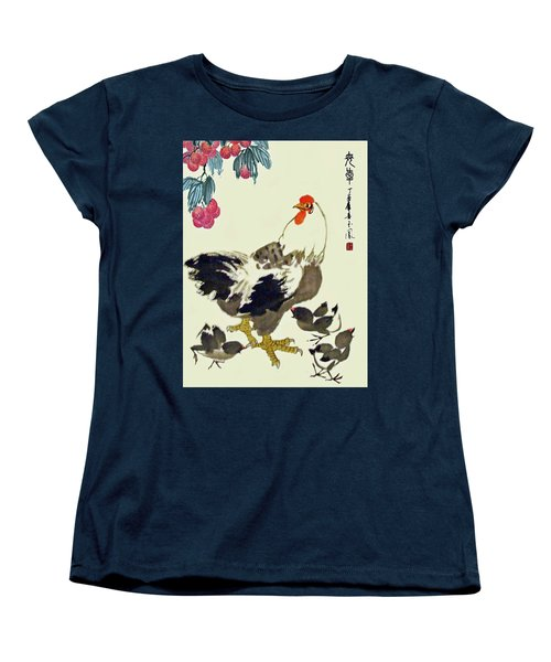 Motherly Love Women's T-Shirt (Standard Cut) by Yufeng Wang