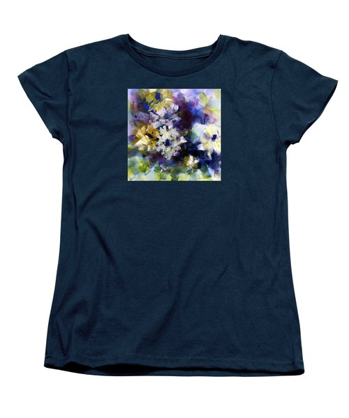 Women's T-Shirt (Standard Cut) featuring the painting Mothers Day by Katie Black