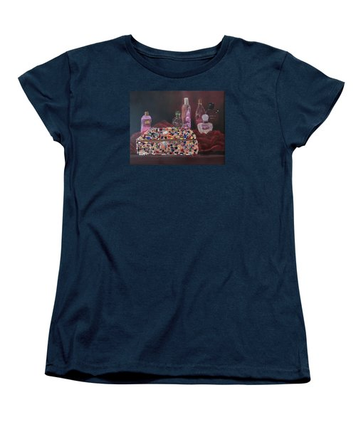 Mother's Jewelry Box Women's T-Shirt (Standard Cut) by Quwatha Valentine