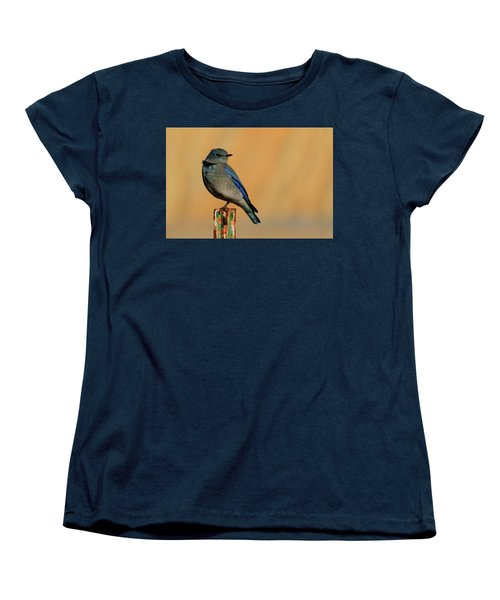 Mountain Bluebird Women's T-Shirt (Standard Cut) by Paul Marto