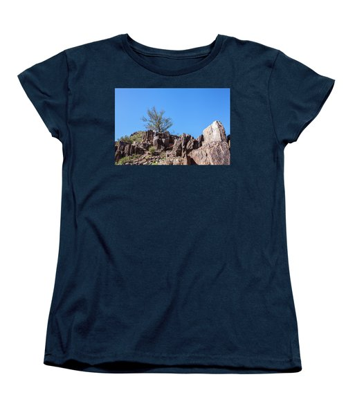 Women's T-Shirt (Standard Cut) featuring the photograph Mountain Bush by Ed Cilley