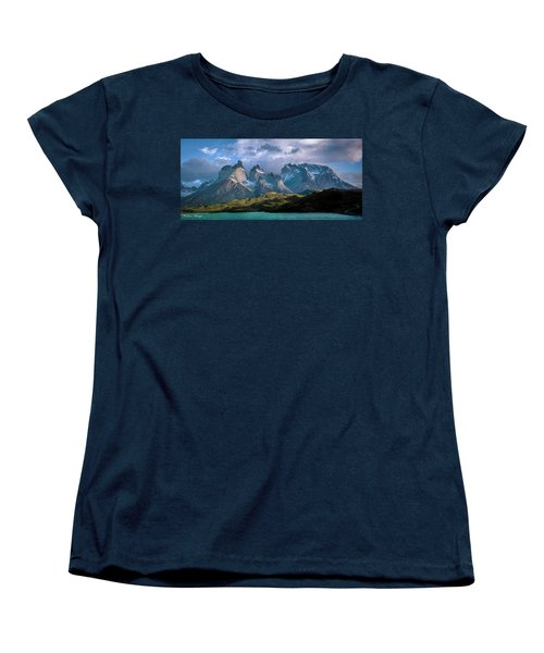 Women's T-Shirt (Standard Cut) featuring the photograph Mountain Dream by Andrew Matwijec