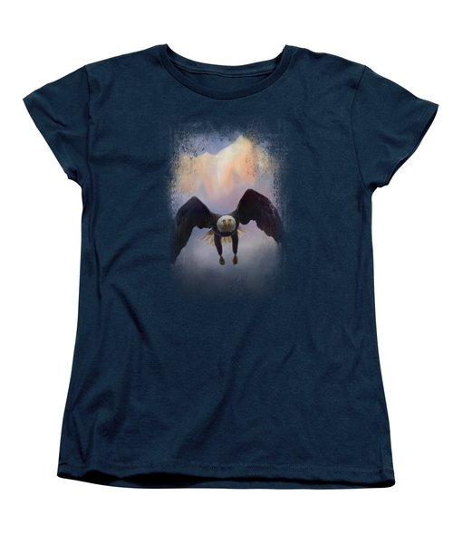 Mountain Flight Women's T-Shirt (Standard Cut) by Jai Johnson