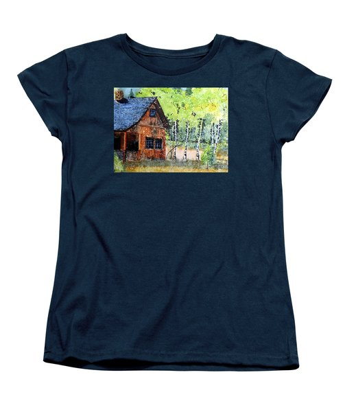 Mountain Home Women's T-Shirt (Standard Cut) by Tom Riggs