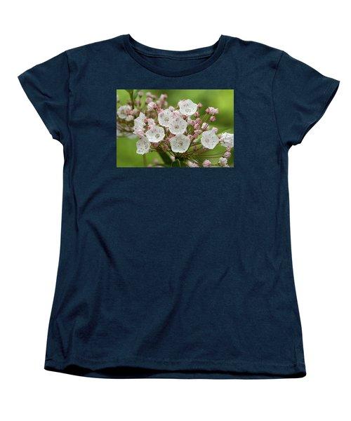 Mountain Laurel Women's T-Shirt (Standard Cut) by Henri Irizarri