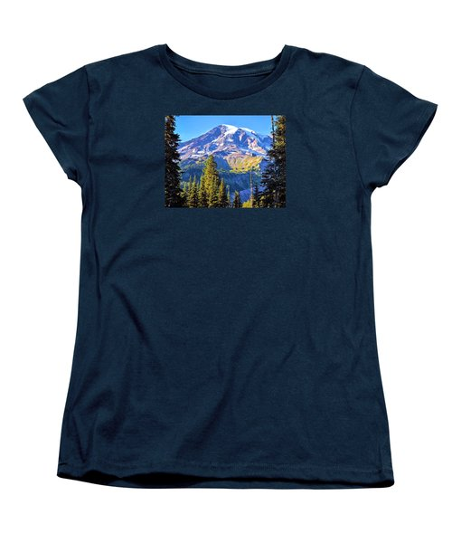 Mountain Meets Sky Women's T-Shirt (Standard Cut)