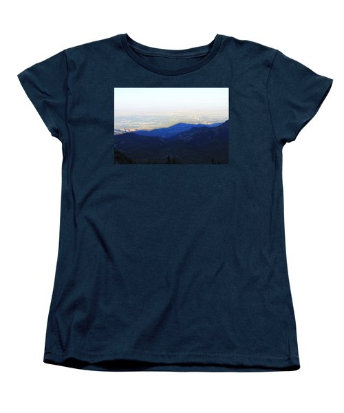 Mountain Shadow Women's T-Shirt (Standard Cut) by Christin Brodie
