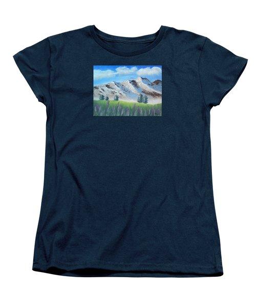 Mountains Women's T-Shirt (Standard Cut) by Brenda Bonfield