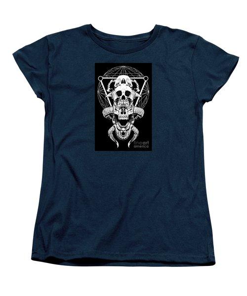 Mouth Of Doom Women's T-Shirt (Standard Cut) by Tony Koehl