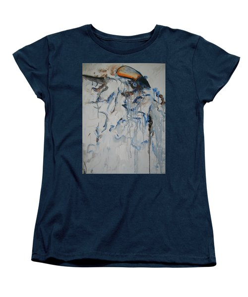 Moving Forward Women's T-Shirt (Standard Cut) by Raymond Doward