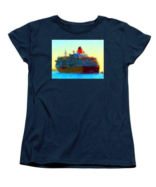 Ms. Queen Victoria Women's T-Shirt (Standard Cut) by Gerhardt Isringhaus