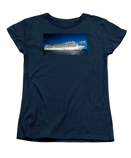 Msc Poesia Women's T-Shirt (Standard Cut) by Christopher Holmes