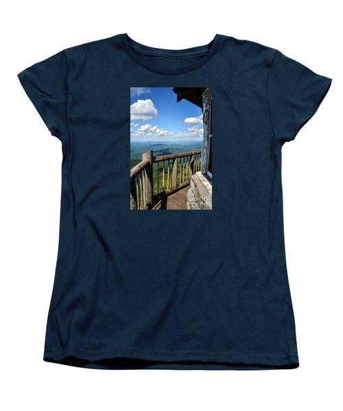 Mt. Cammerer Women's T-Shirt (Standard Cut) by Debbie Green