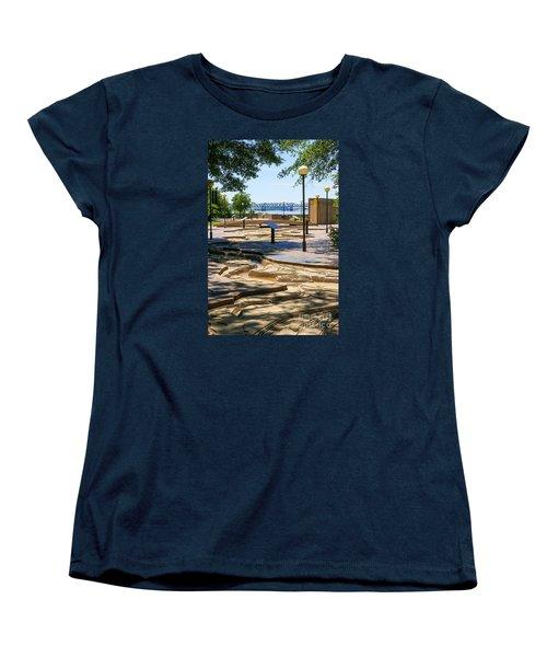 Mud Island Park Women's T-Shirt (Standard Cut) by Jennifer White