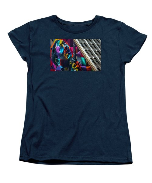Muddy Waters Chicago State Street Dsc2224 Women's T-Shirt (Standard Cut) by Raymond Kunst