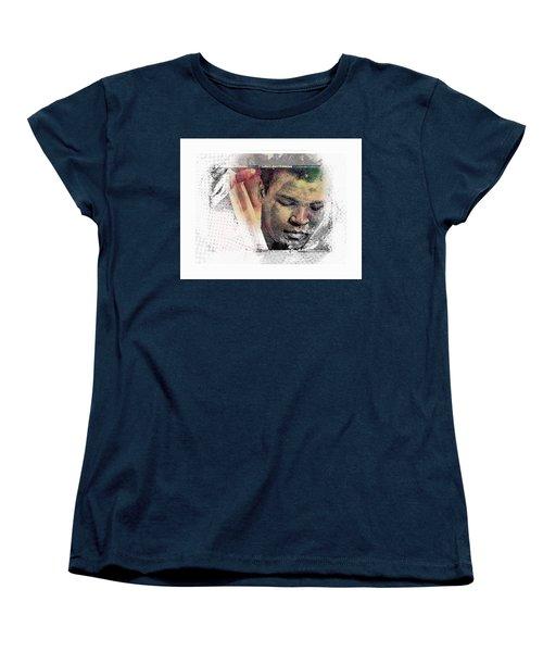 Muhammad Ali Women's T-Shirt (Standard Cut) by Allen Beilschmidt