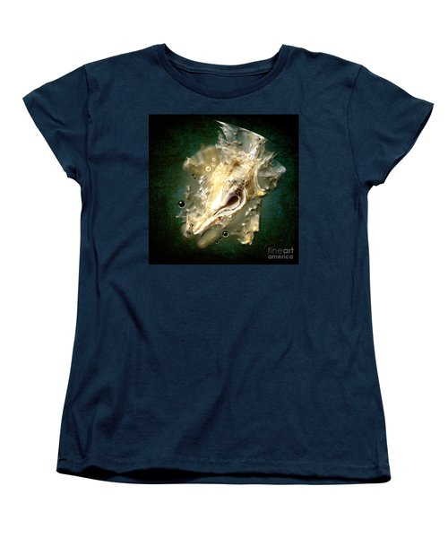 Women's T-Shirt (Standard Cut) featuring the painting Multidimensional Finds by Alexa Szlavics