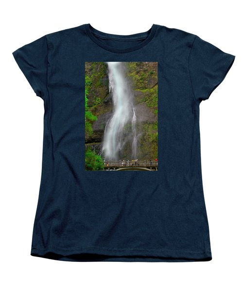 Multnomah Falls Women's T-Shirt (Standard Cut)