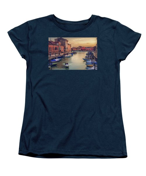 Murano Late Afternoon Women's T-Shirt (Standard Cut) by Brian Tarr
