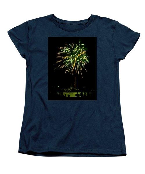Murrells Inlet Fireworks Women's T-Shirt (Standard Cut)